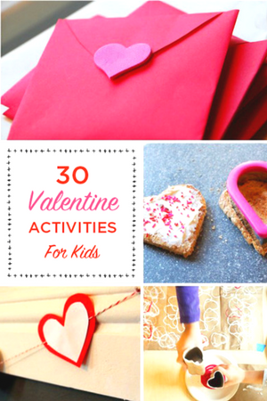 valentine activities for kids - Valentines Day Activities For Kids