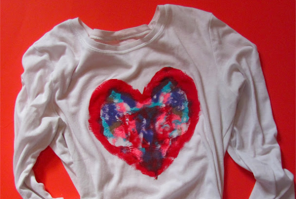 Valentine Activities for Kids | Heart Blotto Shirt