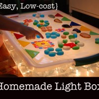 Easy low cost homemade light box