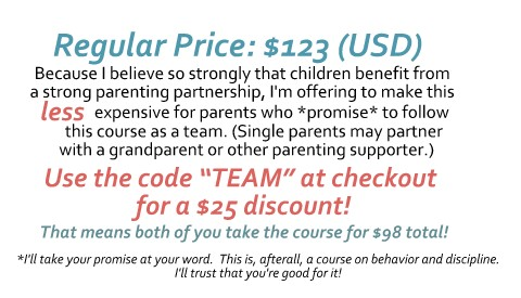 Sign up for Parenting with Positive Guidance