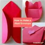 Handmade Valentine Cards: The Amazing All-in-one Heart Envelope