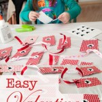 easy valentine bookmark tall text