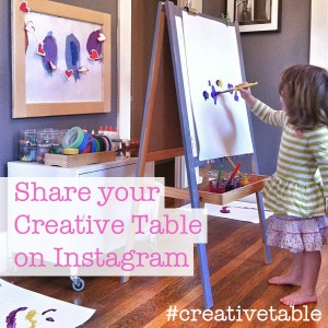 share your creativetable on instagram