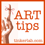 Weekly Art Tips on Tinkerlab.com