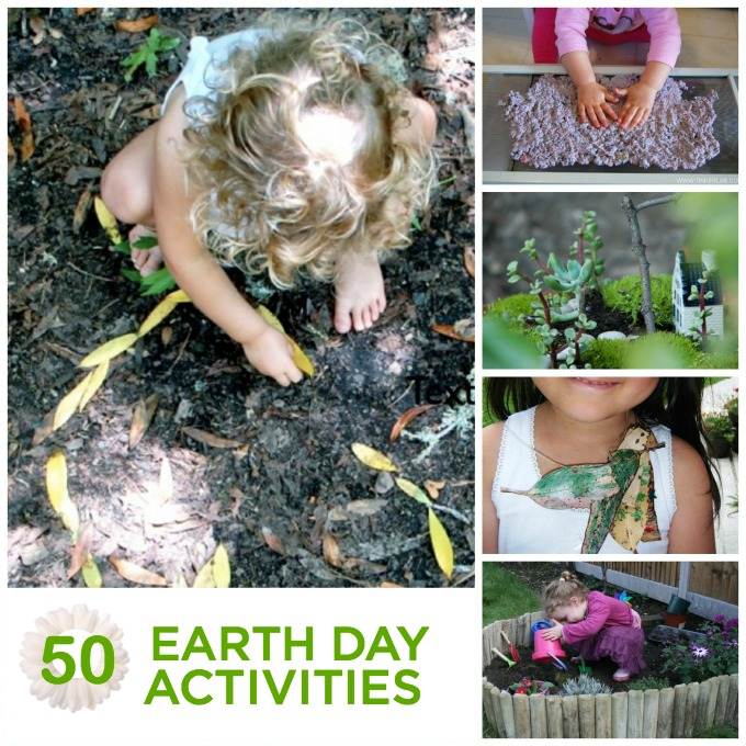 50 EARTH DAY activities for kids!