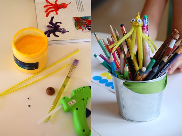 Gum nut pencil topper tutorial
