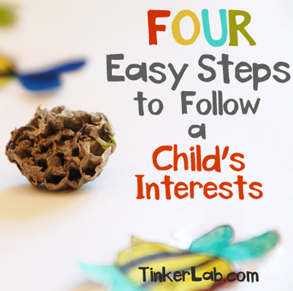 four easy steps to follow a child's interests