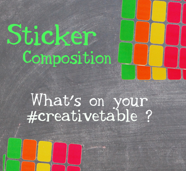 graphic for sticker composition