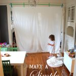 How to build a simple kids fort with tape and a sheet