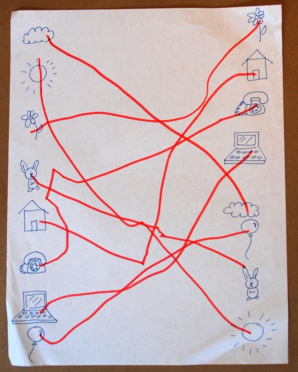 Simple matching sticker game tinkerlab matching sticker game hand drawn ccuart Gallery