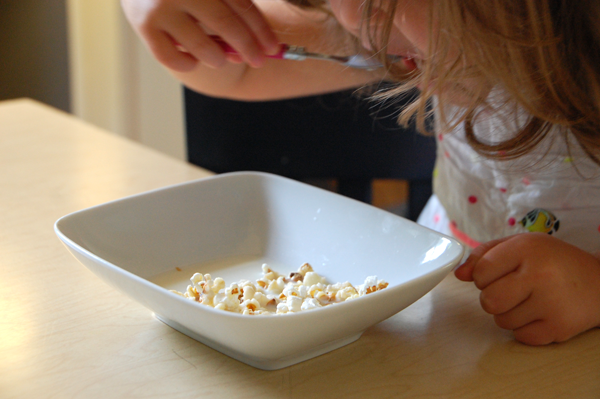 breakfast popcorn recipe