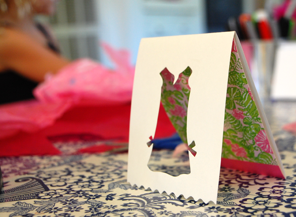 cut out shape cards