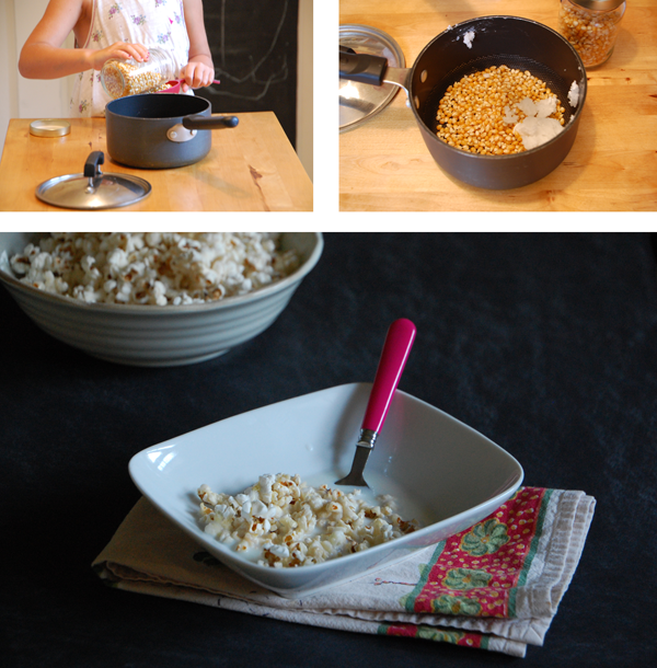 How to make popcorn cereal