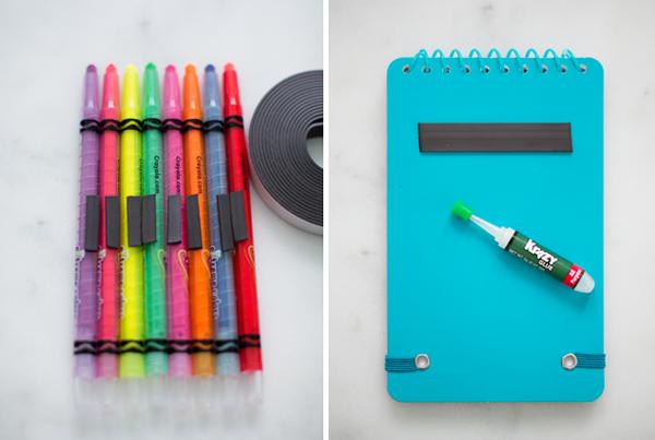 DIY Travel Coloring Station | Modern Parents Messy Kids