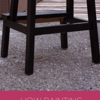 painting furniture with kids via Tinkerlab