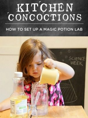Magic potion lab game for kids