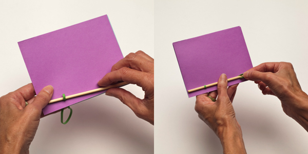 Bamboo Rubber Band Book