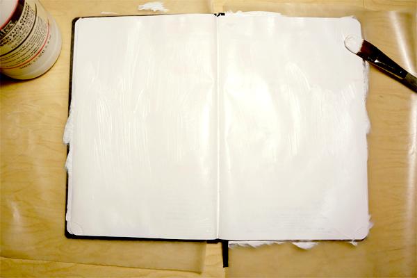 sketchbook gesso
