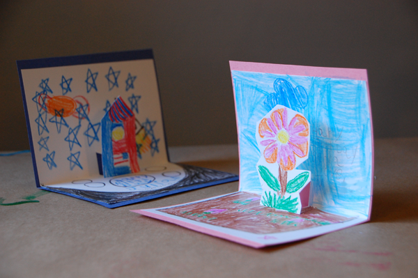 Simple DIY Pop Up Cards for Kids