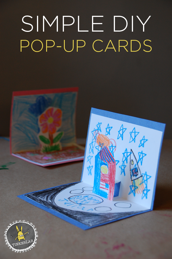 Popup Card Making Ideas Part - 30: Simple DIY Pop Up Cards