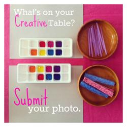Creative Table | Tinkerlab