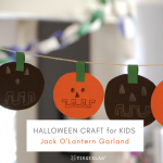 Easy DIY Halloween Garland