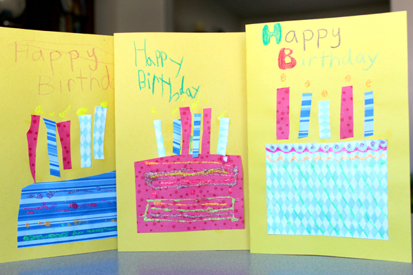 40 homemade cards for kids to make including birthdays holidays and thank you cards