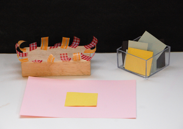 Tape and Paper Invitation