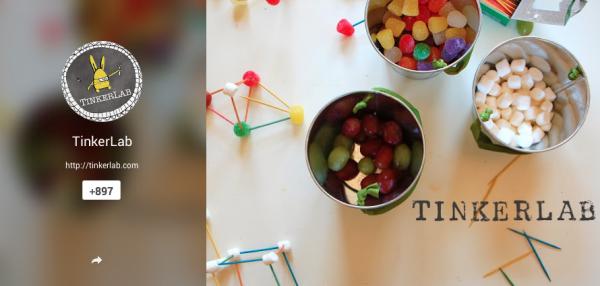 Tinkerlab on G+