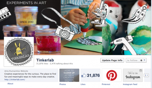 Tinkerlab on Facebook