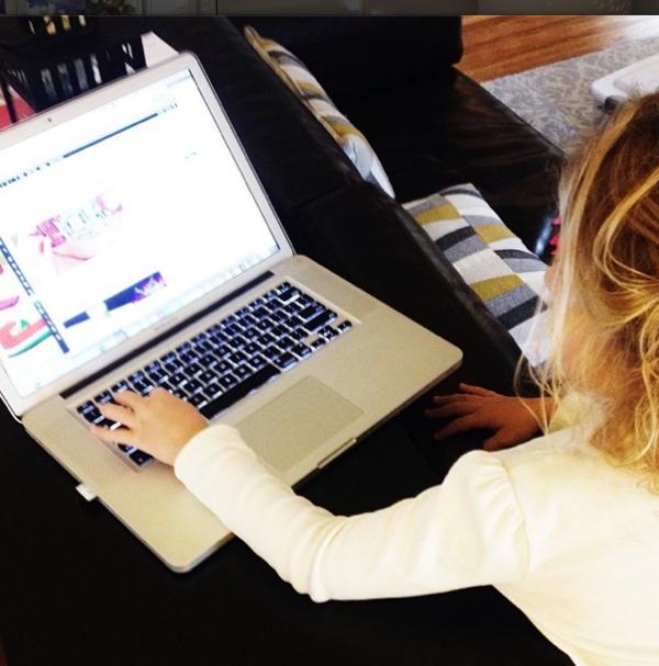 kid blogger