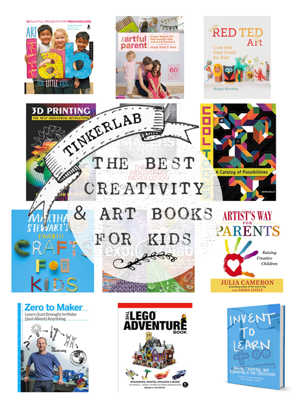 The best art and creativity books for kids | Tinkerlab