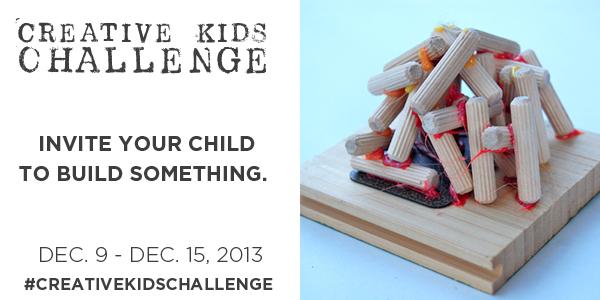 Creative Kids Challenge Tinkerlab