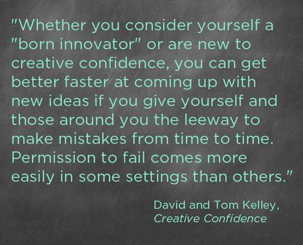 creative confidence quote