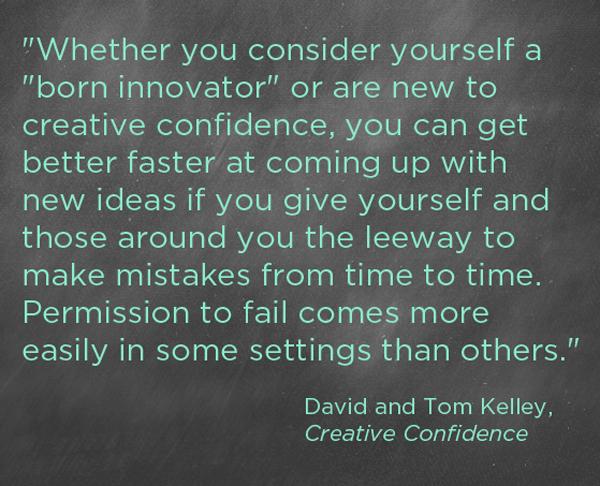 creative confidence quote