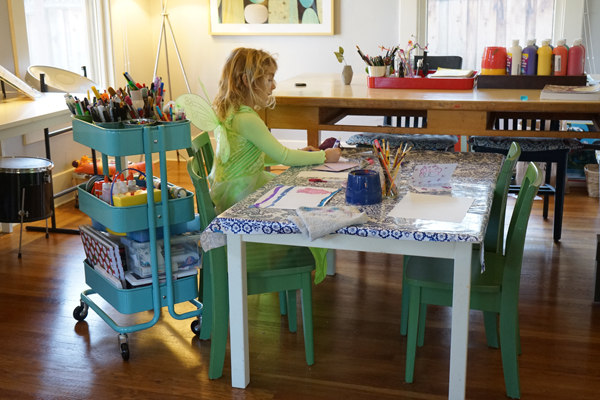 Art Studio with Kids | Tinkerlab