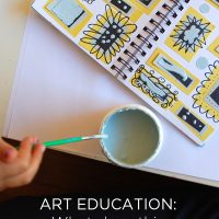 What does Art Education mean to you? Parents chime in | TinkerLab.com
