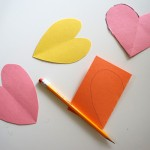 How to cut a heart out of paper | TinkerLab.com