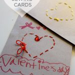 Heart Sewing Cards for Preschoolers