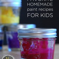 Favorite (and easy) homemade paint recipes for kids | TinkerLab.com