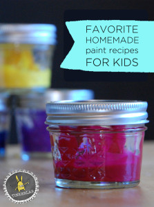 favorite homemade paint recipes for kids