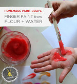 Paint Recipe for Kids |Homemade Finger Paint