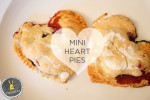 Mini Heart Pies | A Simple and Sweet Valentine's Day Treat
