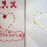 Sewing Card Activity for Valentine's Day | TinkerLab.com
