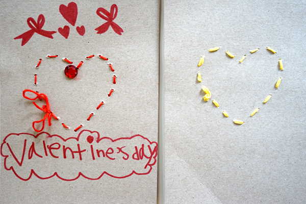 Valentine Heart Crafts For Preschoolers