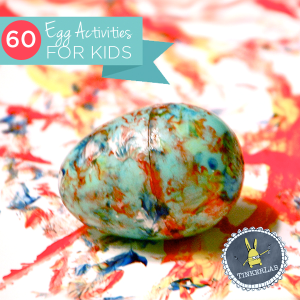 These are really easy, and will give the kids a lot of variety for easter. Egg Activities for Kids!