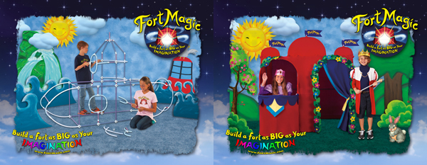 Fort Magic imagination toy