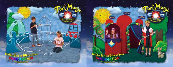 Fort Magic imagination toy