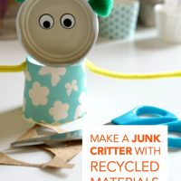 How to make art with recycled materials
