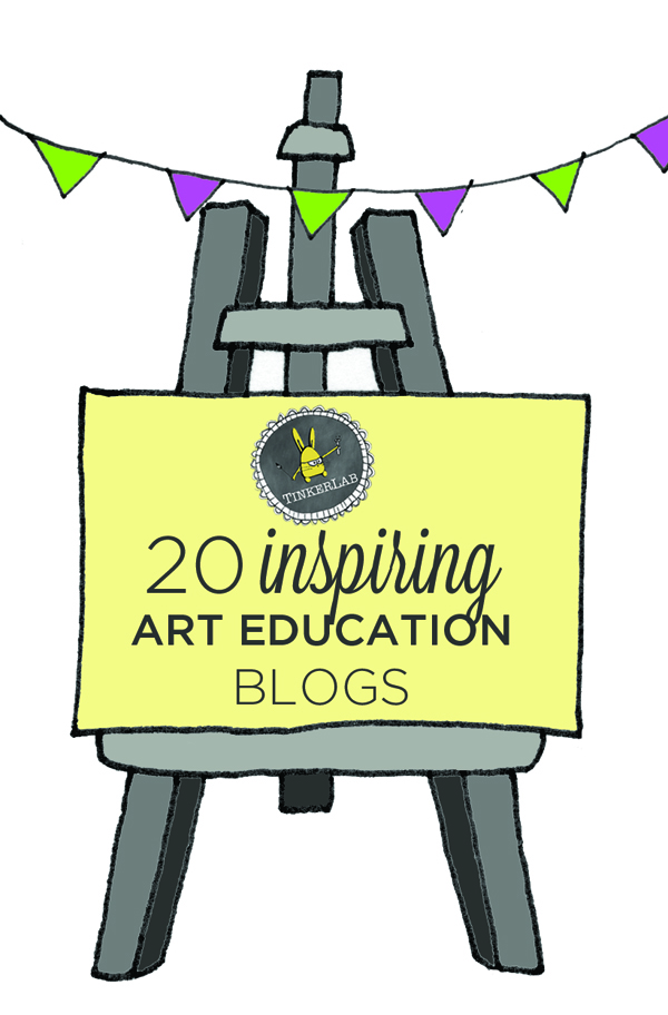 20 inspiring art education blogs | TinkerLab.com
